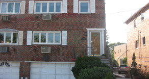 2 FAMILY SEMI-ATTACHED BRICK w 2-CAR GARAGE